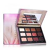 12fards à paupières Marron chaud Peach Matte Nude Naturel Smoky Maquillage Palette par Prism Maquillage