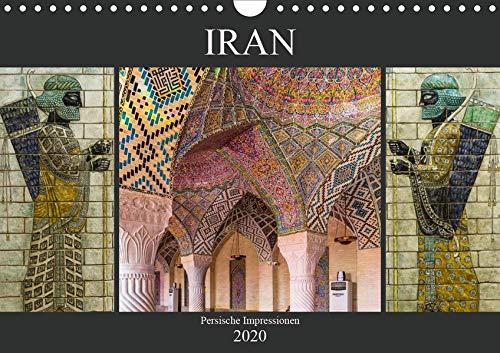 ressionen (Wandkalender 2020 DIN A4 quer): Persien, Zauber des Orients (Monatskalender, 14 Seiten ) (CALVENDO Orte) ()