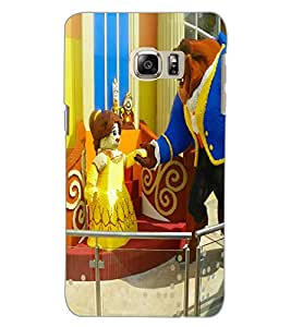SAMSUNG GALAXY NOTE 5 EDGE CARTOON Back Cover by PRINTSWAG