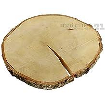 Baumscheibe Holzscheibe Birkenscheibe Astscheibe Birke Deko Basteln ca 21 cm