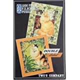 Two's Company 1000 Piece 2 Sided Puzzle by FX Schmid