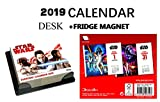 Star Wars Official Day to Day Desk CALENDARIO 2019 + Star Wars FRIGORIFERO