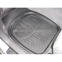 Nissan Terrano 2 / Patrol alfombrillas de coche bandeja profunda RM500 negro 4 piezas caucho pvc