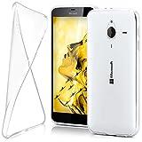 moex Microsoft Lumia 640 XL | Hülle Silikon Transparent Klar Clear Back-Cover TPU Schutzhülle Dünn Handyhülle für Nokia Lumia 640 XL Case Ultra-Slim Silikonhülle Rückseite