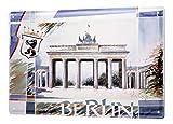 Blechschild Galerie Maler Franz Heigl Bild Collage Berlin