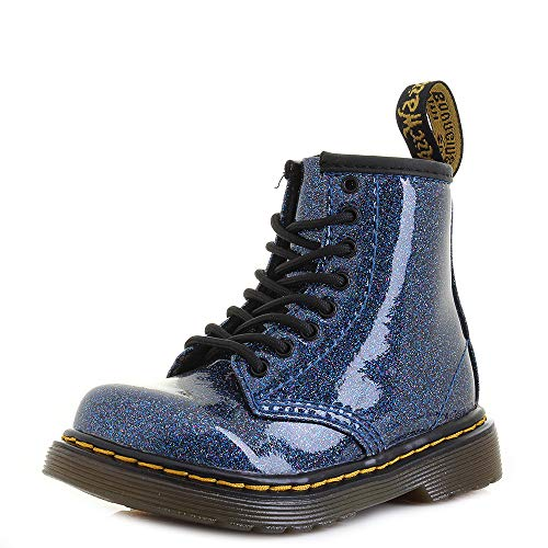 Dr. Martens Kid's Collection Baby Girl's 1460 Patent Glitter Toddler Brooklee Boot (Toddler) Glitter Patent Schuhe