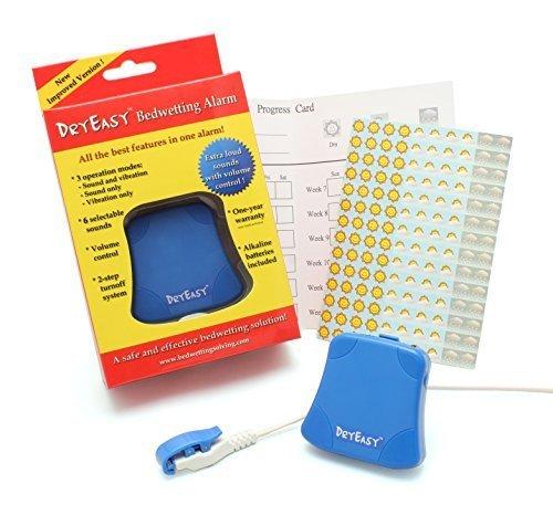 Nueva DryEasy mojar la cama alarma con control de volumen, 6 seleccionables Sonidos y...