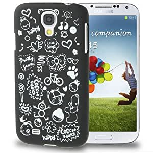 Magic Girl Pattern Frosted Plastic Case for Samsung Galaxy S4 i9500 in Black
