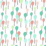 Fabulous Fabrics Cretonne Luftballons Envol 1 Mint —