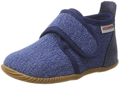 Giesswein Jungen Strass-Slim Fit Hohe Hausschuhe, Blau (527/Jeans), 23 EU (Strass-kinder Jeans)