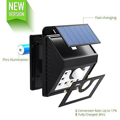 Mpow Solarleuchte 8 LED - 3