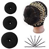 Majik Parlour Accessories Combo, Bob Pin Set And Donut Bun Maker And Hair Gajra For Women And Girls,15 Gram, Pack Of 1