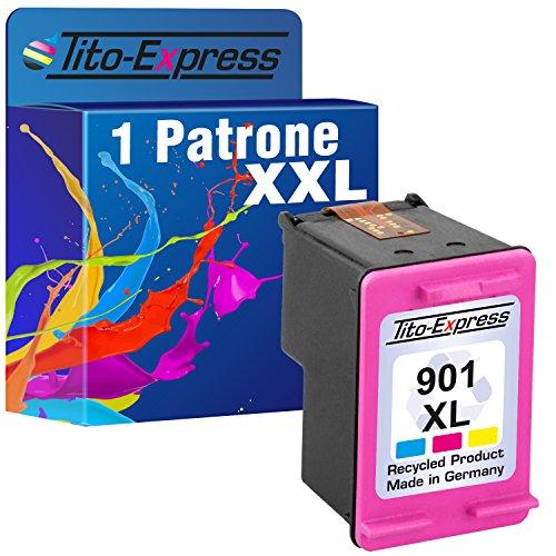 PlatinumSerie 1 Cartucce compatibile con HP 901XL Color OfficeJet J4500 J4524 J4540 J4550 J4580 J4600 J4624 J4660 J4680