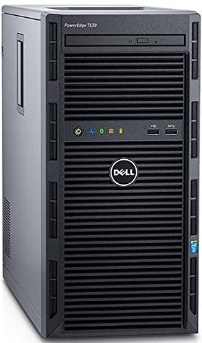 Produktbild Dell T130-5805 PowerEdge PC-Server (Intel Xeon 1220V5, 3GHz, 8GB RAM, 2000GB HDD, kein Betriebssystem)