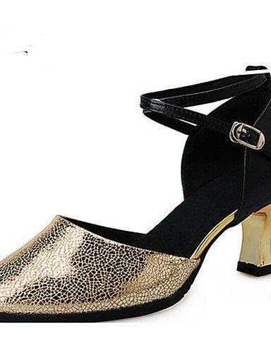 La mode moderne Sandales femmes personnalisables Chaussures de Danse Ballet Satin satin Talon plat unique complet Rose à l'intérieur US6.5-7 / EU37 / UK4.5-5 / CN37
