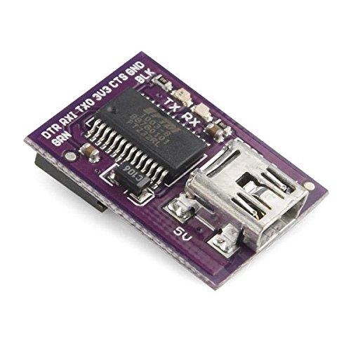 DEV-10275 , LilyPad FTDI Basic Breakout - 5V