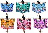 La Leela paréo plage couvrir robe des femmes florales jupe wrap sarong 72×42 pouces