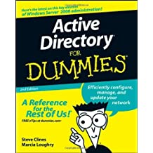 Active Directory For Dummies by Steve Clines (8-Aug-2008) Paperback