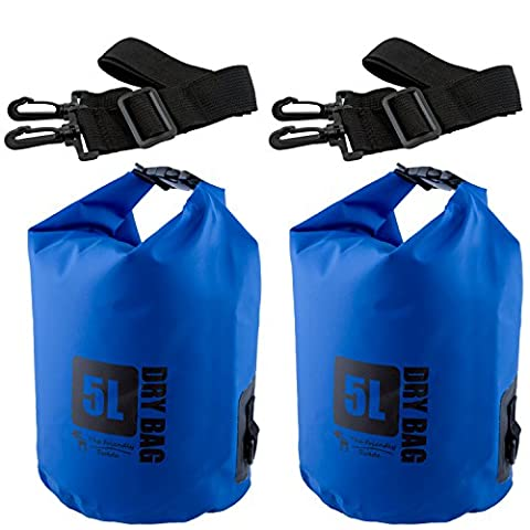 2-er Set The Friendly Swede 500D PVC Outdoor Dry-Bags - wasserfeste Pack-Säcke - Sport e all'aperto Attrezzature per attività all'aperto