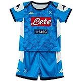 SSC Napoli, Kit Gara Home Bambino 2019/2020, Blu, 4 anni
