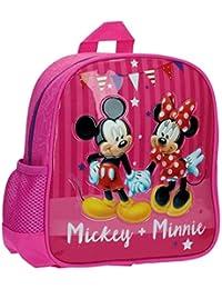 Disney 26920A1 Mickey & Minnie Party Mochila Infantil, 5.75 Litros, Color Rosa