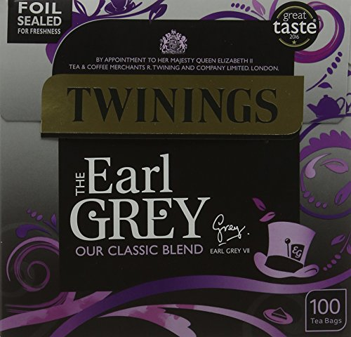 Twinings The Earl Grey, 100 Tea Bags