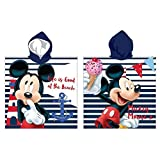 Cape de bain - poncho de bain - microfibre -55x110 cm - Mickey- Disney