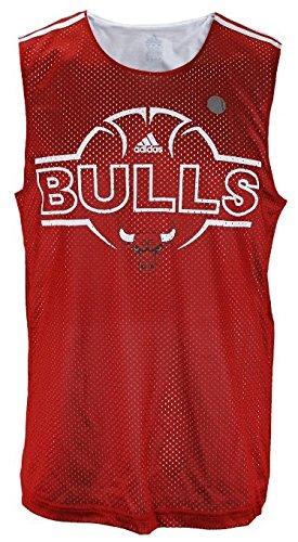 Chicago Bulls NBA Herren Hoops Tank–Rot, damen Jungen Mädchen Herren, rot