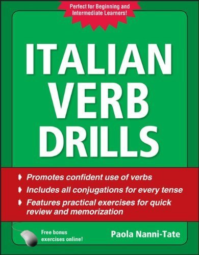 Italian Verb Drills, Third Edition (Drills Series) by Nanni-Tate, Paola (2010) Paperback