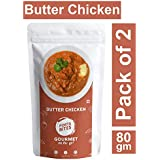 [Sponsored]PORTABITES Freeze Dried Ready To Eat, Butter Chicken - (Pack Of 2)