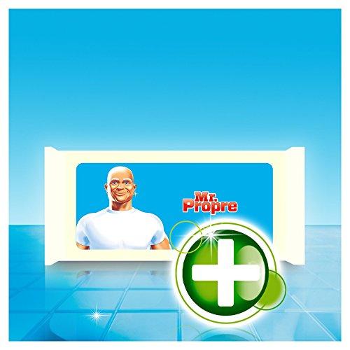Mr Propre Lingette Nettoyante Multi-usage Antibactérienne Pack de 30 - Lot de 3