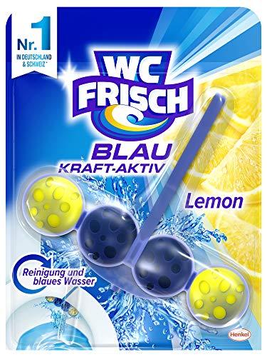 WC Frisch Kraft-Aktiv Blauspüler Lemon, 10er Pack (10 x 50 g)