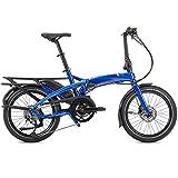 Tern Faltrad Vektron Q9 Fahrrad E-Bike 9 Gang Blau Alu 25 km/h Kettenschaltung Shimano 36V 250W, CB19EHPC09HLRSL23