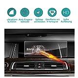 Protecteur d'écran en verre trempé 10,2 pouces pour le système de navigation de (2010-2015) BMW Série 5 M5 / 5 Série GT M550d (F10) (F11) (F07), (2008-2015) BMW Série 7 (F01) (F02) ( F04) Film de protection transparent protecteur invisible, Crystal HD Protecteur d'écran transparent, protecteur des yeux, RUIYA