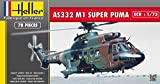 Heller - 80367 - Maqueta para construir - Super Puma As 332 M1 - 1/72