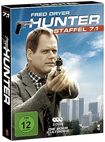 Hunter - Gnadenlose Jagd (Staffel 7.1 auf 3 DVDs im Digipack mit Schuber)