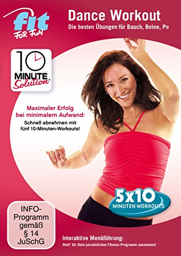 Fit for Fun - 10 Minute Solution: Dance Workout - Bauch, Beine, Po