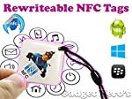 Condense a dozen phone actions into 1 quick Smartphone scan. Save time, simplify technology, and stop repeating the same tasks everyday. This NFC Tag (Near field communication tag) is compatible with all android devices, windows phones and blackberry...