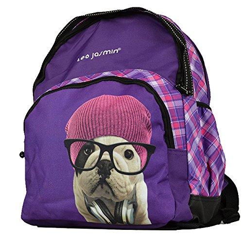 Sac à dos Teo Jasmin 2 compartiments violet