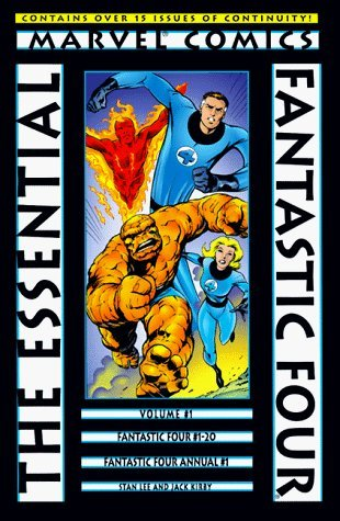 Essential Fantastic Four Volume 1 TPB by Stan Lee (December 08,1998)