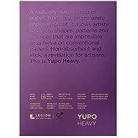 Legion Yupo Heavyweight Pad, 5 X 7 inches, 144 lb., White, 10 Sheets (L21-YUP389WH57)