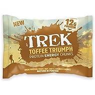 Trek Toffee Treat Protein Bitesize Chunks - Box of 14 Packs