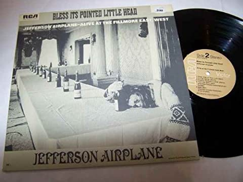 JEFFERSON AIRPLANE LP, BLESS ITS POINTED LITTLE HEAD, US ISSUE PRE-OWNED EX/EX CONDITION LP