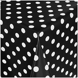 TEXMAXX Wachstuchtischdecke Wachstischdecke Wachstuch Tischdecke abwaschbar (621-00) – 100 x 140 cm – PVC Tischdecke…