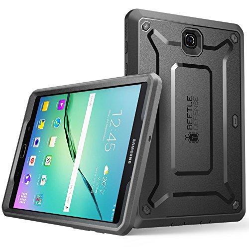 SUPCASE Unicorn Beetle Pro - Custodia prottetiva in TPU per Samsung, Galaxy Tab S2 da 8', Nero