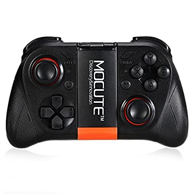 Bluetooth 3.0 Wireless Gamepad Game Controller Gaming Joystick Handle Support Android Smartphone / TV Box with Phone Holder
