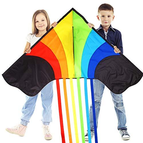 Huge Rainbow Kite...