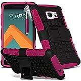 Pink - Gadget Giant® HTC 10 / One M10 Zweischichtige