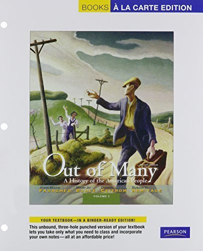 Out of Many: A History of the American People, Volume 2, Books a la Carte Plus NEW MyHistoryLab with eText -- Access Card Package (7th Edition) by John Mack Faragher (2011-06-04)