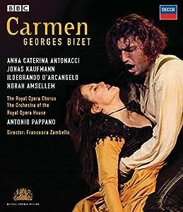 Carmen: Royal Opera House (Pappano) [Blu-ray] [2008]